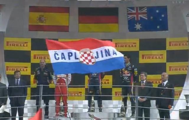 Zastava Hrvatskog Naroda Iz Bih Iznad Svih Ispred