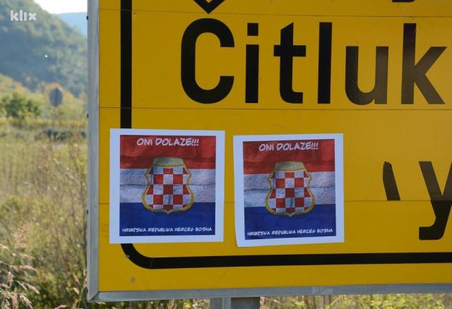 Oni Dolaze I Zastave Herceg Bosne širom Hercegovine Bih